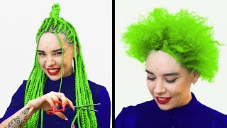 Crazy But Gorgeous Hair And Makeup Transformations
