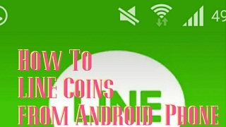 How To Buy Line Coins from Android Phone