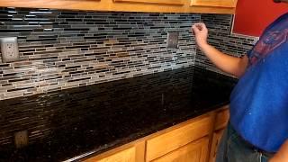 Instalacion de salpicadera en la cocina
