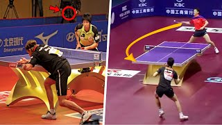 Table Tennis Rallies- If Were Not Filmed Nobody Would Believe [HD]