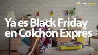 Colchón Exprés ¡Ya es BLACK FRIDAY! anuncio