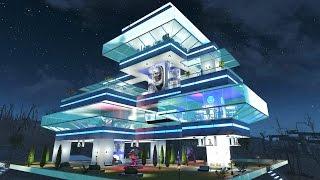 Fallout 4 BEST Settlement Build !!! - Starlight Drive In - State Of The Art Settlement - Best Mods