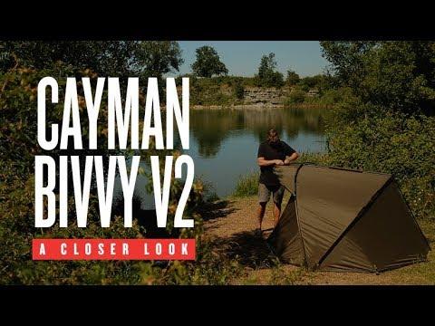 Trakker Cayman Bivvy V2 - sátor (1 személyes) videó