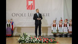 Spotkanie Andrzeja Dudy z mieszkańcami w Opolu Lubelskim