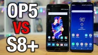 OnePlus 5 vs Samsung Galaxy S8+: Can it kill a flagship?