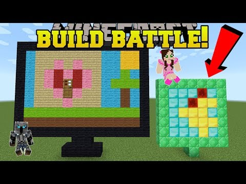 Minecraft: BUILD BATTLE!!! - SWAP STYLES CHALLENGE! - Mini-Game