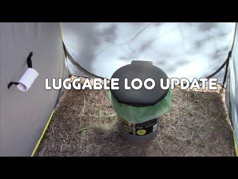 Luggable Loo Update