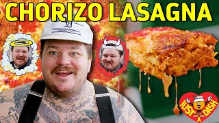 Naughty or Nice Chorizo Lasagna  | Matty Matheson | Just A Dash | EP 7