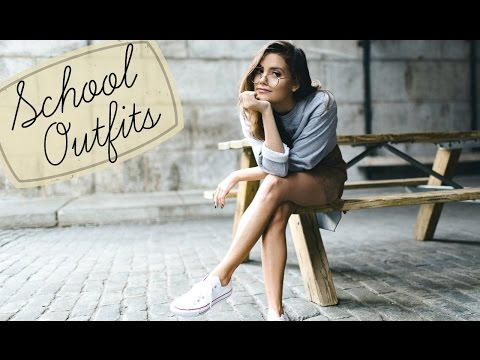SCHOOL OUTFIT IDEAS | Monday Through Friday