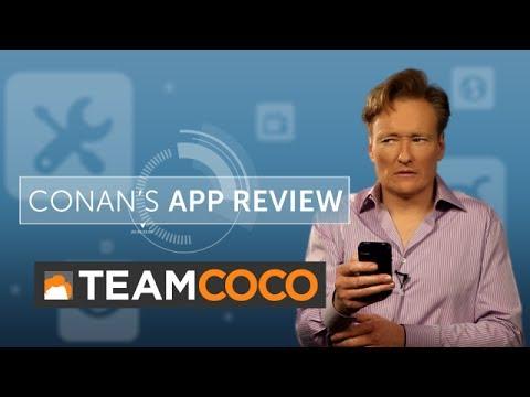 Conan recenzuje mobilní aplikace