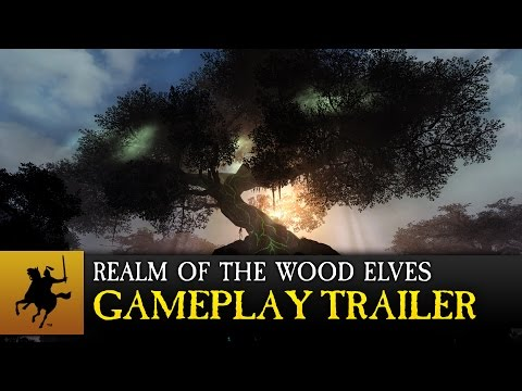 Total War: WARHAMMER - Realm of The Wood Elves Gameplay Trailer thumbnail