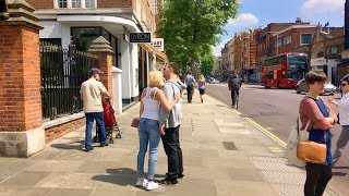 LONDON WALK | Kensington High Street | England