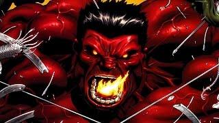 Supervillain Origins: Red Hulk