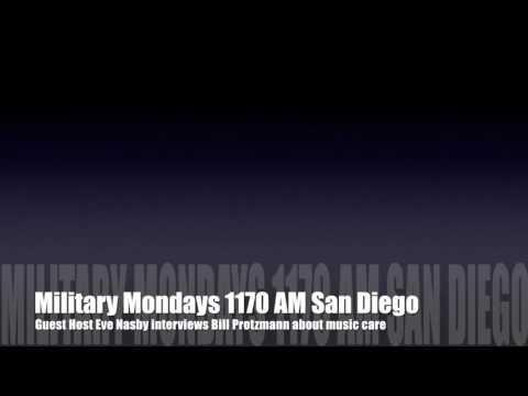 Bill interviewed on Military Mondays, AM 1170 San Diego, 1/16/2017