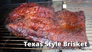 Texas Style Brisket | Smoked Brisket Recipe with Red Butcher Paper on Ole Hickory Pits Smoker