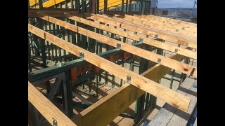 Burmon Brackets for LVL Rafter Tie Downs