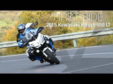 2015 Kawasaki Versys 650 LT First Ride - MotoUSA