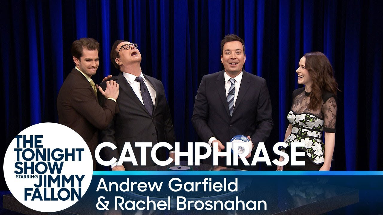 Catchphrase with Andrew Garfield and Rachel Brosnahan thumbnail