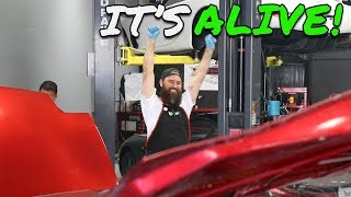 MICKEY'S MAZDA FD RX-7 FIRST START UP! ***NOT CLICKBAIT***