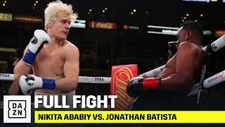 FULL FIGHT | Nikita Ababiy vs. Jonathan Batista