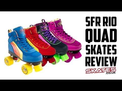 SFR Rio Retro Roller Quad Roller Skates | Skates.co.uk Review