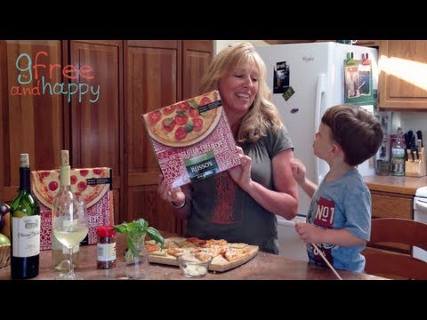 Gluten Free Pizza Review with GFree and Happy