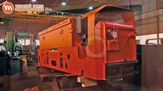 видео товара Инновационный шахтный электровоз
