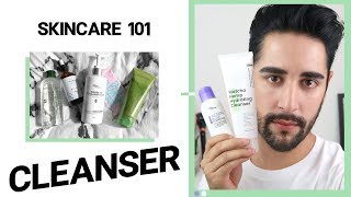 SKINCARE 101 - Cleansers. How To Use, Why, When and What Cleanser Is Best For You ✖ James Welsh