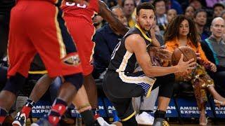 No Kevin Durant No Problem For Warriors vs Pelicans! 2017-18 Season