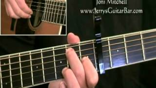 How To Play Joni Mitchell Cactus Tree (intro only)