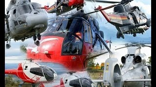 preview picture of video 'Various Helicopters at Cervolix 2013 - Seaking / Panther / Colibri'