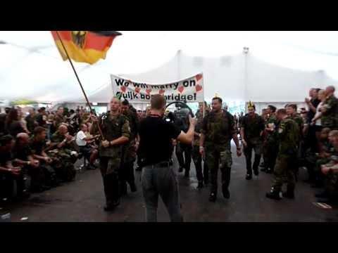 Entrance Heumensoord 2011 Vierdaagse Nijmegen German team MARRY day 3
