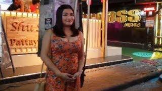 Pattaya Walking Street Thailand Friday Nigtht