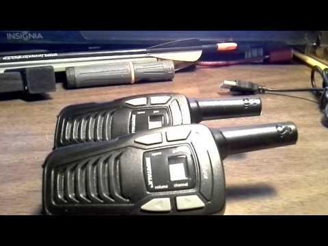 Testing Cobra MicroTalk 2 Way Radios Bug Out Bag Walkie Talkies USB Rechargable