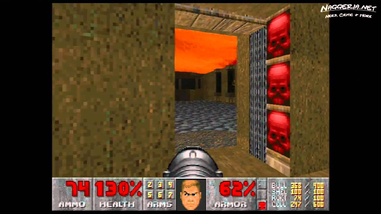 "Doom (E4M4 ""Unruly Evil"") Walkthrough – Ultra-Violence"