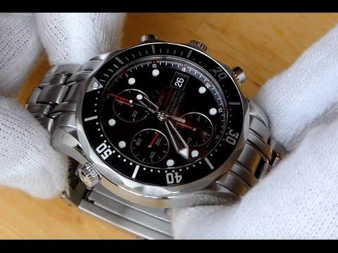 "Uhrenratgeber: Omega Seamaster 300 Chronograph ""James Bond"" - Review - Test - Deutsch"