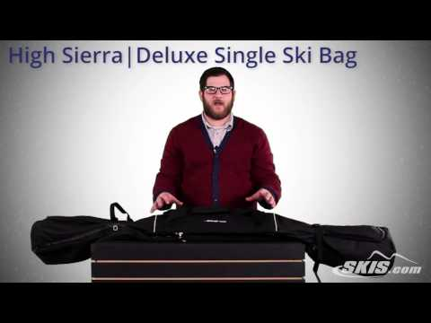 High Sierra Deluxe Single Ski Bag 2015