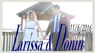 Donin & Larissa's Wedding Video Jacksonville NC