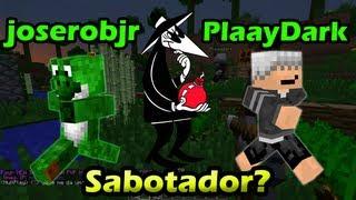 O PlaayDark é sabotador? - Minecraft PVP