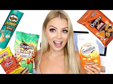 AUSTRALIAN TRIES AMERICAN CHIPS!!