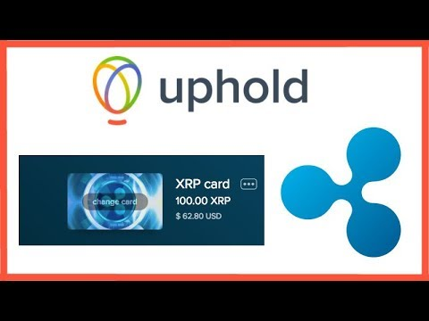 Uphold : The Easiest Way to Buy Ripple XRP in the U.S. - Uphold Exchange Demo - XRP USD Fiat Pairing (видео)