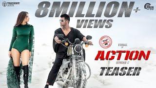 Action Teaser I Vishal, Tamannaah I Hiphop Tamizha I Sundar.C I Official