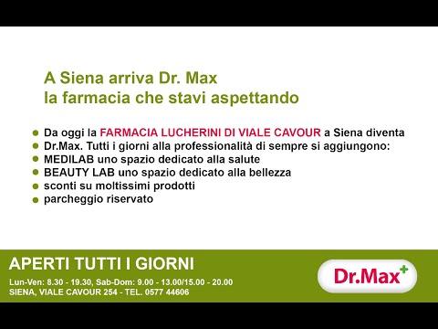 A Siena arriva Dr.MAX, la farmacia che stavi aspettando