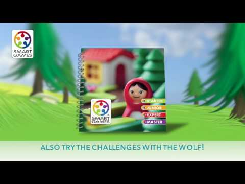 Joc Scufita Roise - Joc de Logica Smart Games - Little Red Riding Hood - Deluxe