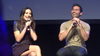 Tyler Hoechlin & Crystal Reed Panel WereWolfCon 2015