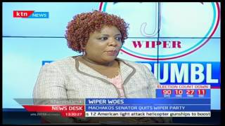 Reasons why Wiper may disintegrate before the general elections: Political Analyst-Joy Brenda Mdivo