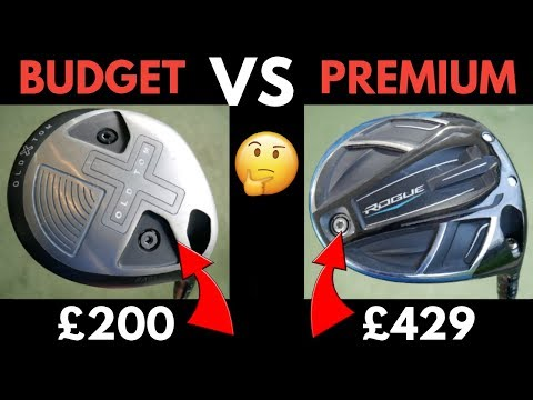 Budget Driver VS Premium Driver + Old Tom RA91 Golf Driver Review