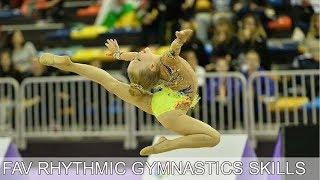 My favorite rhythmic gymnastics skills (Instagram)