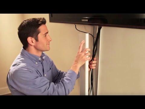 Flat Screen Tv Cord Cover Kit Cmk30 Legrand