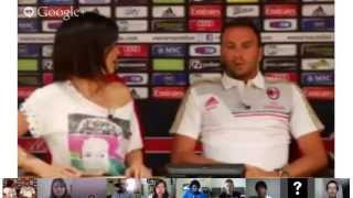 AC Milan | Hangout con Giampaolo Pazzini (26/07/2013)